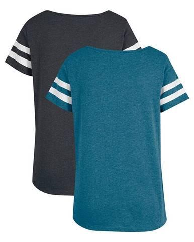 Športové tričko, 2 ks, krátky rukáv