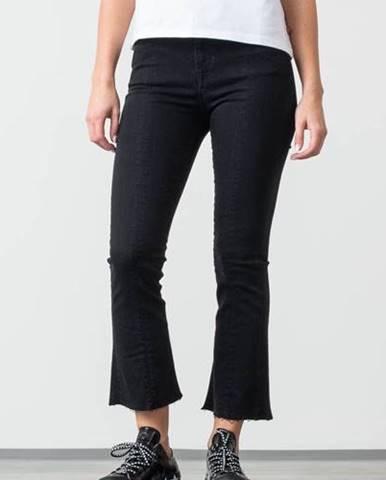 Lana High Waist Bootcut Jeans Black Denim
