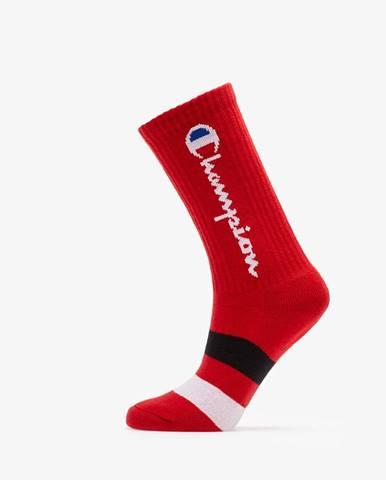 Rochester Crew Socks Red