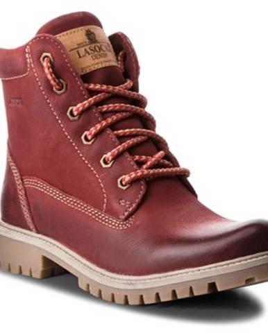 Šnurovacia obuv Lasocki WI20-ASPEN-02 nubuk,koža(useň) lícová