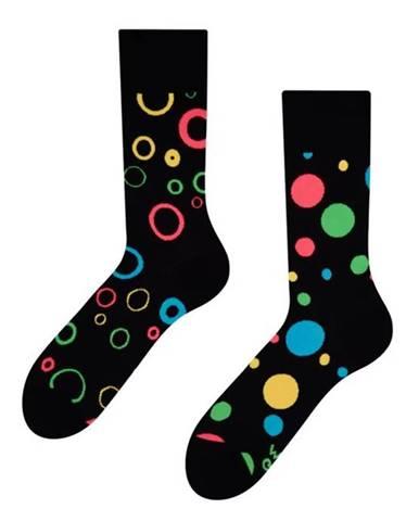 Veselé ponožky Dedoles Neónové bodky GMRS084