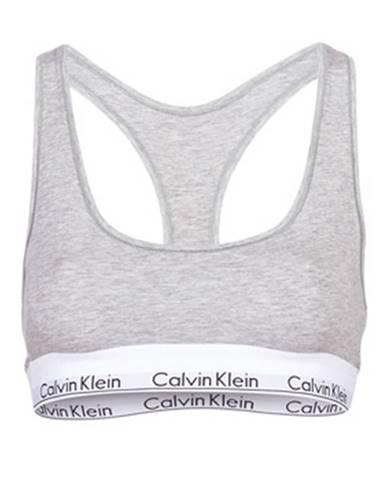 Športové podprsenky Calvin Klein Jeans  MODERN COTTON UNLINED BRALETTE