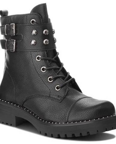 Šnurovacia obuv Jenny Fairy LS4628-06 koža ekologická