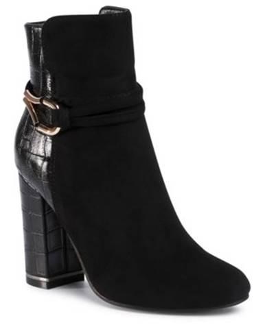 Členkové topánky Jenny Fairy WS19028-01 Materiał tekstylny,koža ekologická