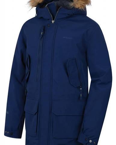 Husky  Nelidas M tm. modrá, XL Pánsky plnený zimný kabát