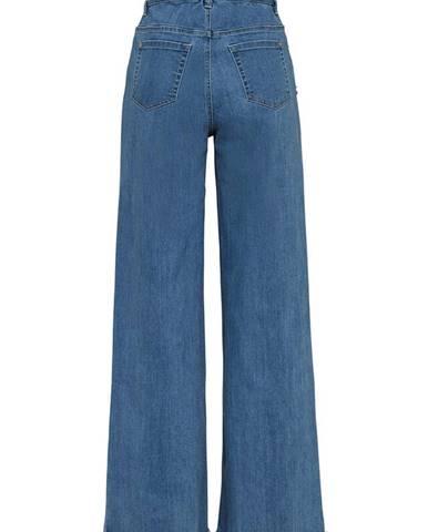 Džínsy culotte, skrátený strih