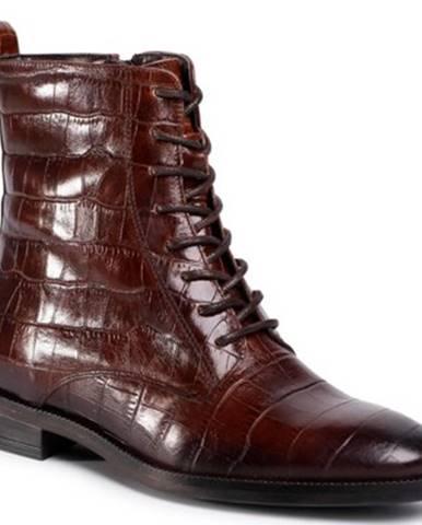 Šnurovacia obuv Gino Rossi I020-30124DUL koža(useň) lícová