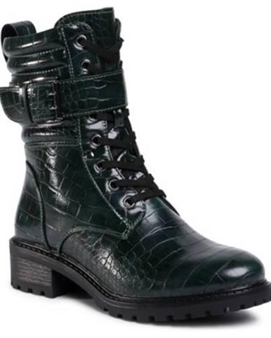 Šnurovacia obuv  WS2971-02A koža ekologická